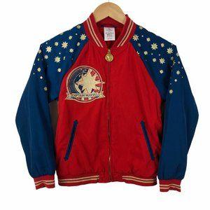 Disney Captain Marvel Girl's Bomber Jacket 9/10